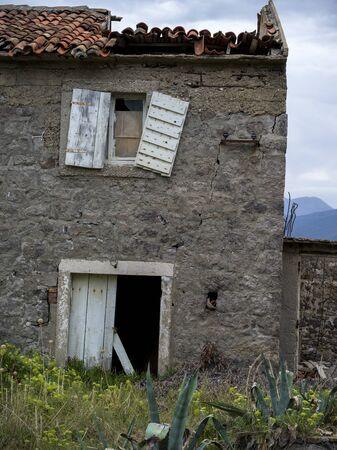 Abandoned house, Karce, Trivet, Montenegro