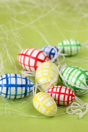 Colorful Easter eggs Stock Photo - 6335637