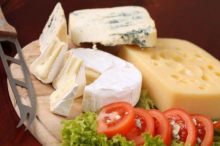 tabla de queso: Placa de queso  Foto de archivo