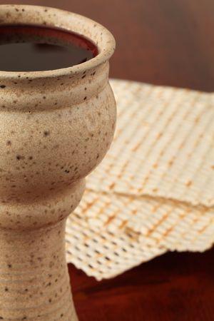 jewish cuisine: Celebrating Passover Stock Photo