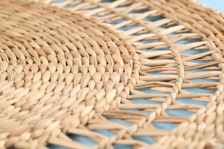 straw mat: Straw mat Stock Photo