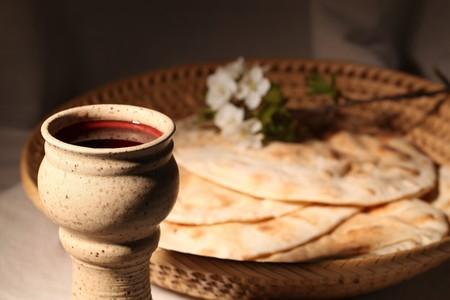 bread and wine: Comuni�n