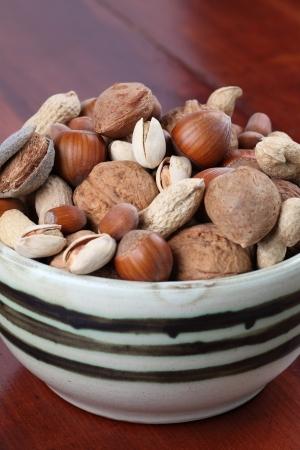 mixed nuts: Mixed nuts Stock Photo