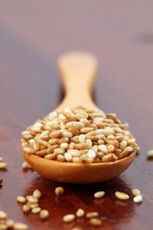 sezam: Nasiona sezamu palona