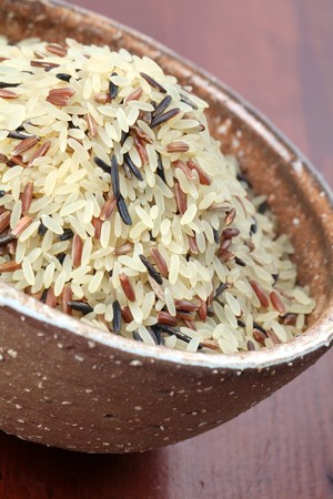 wild asia: Mixed rice Stock Photo