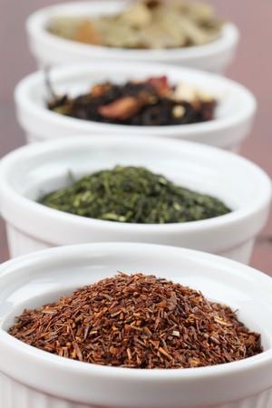 red bush tea: Tea collection - focus on rooibos