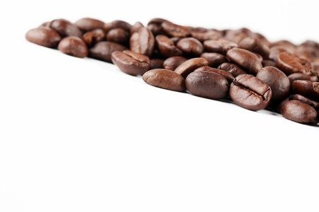decaffeinated: Coffee bean border