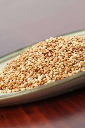 roasted sesame: Roasted sesame seeds