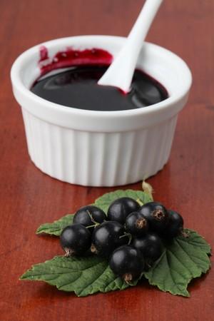 Black currant jam Stock Photo - 7387128