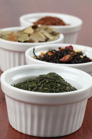 sencha: Tea collection - bancha or sencha green tea
