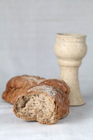 breadloaf: Holy communion.