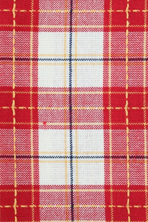 Red chequered dish towel background photo