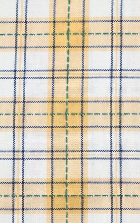dishtowel: Yellow checked dish towel background