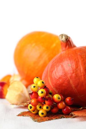 autumn arrangement: Autumn arrangement with Hokkaido pumpkins