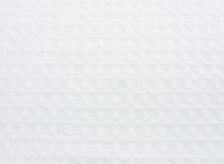 Texture of white cotton fabric as abstract background