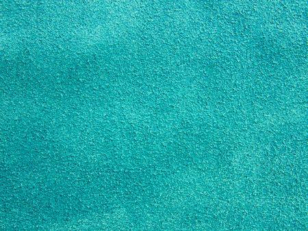 Original texture of natural shammy of sea-green Stock Photo