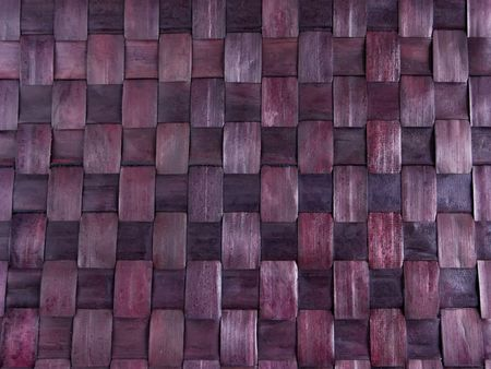 Abstract background texture of bamboo mat close-up photo