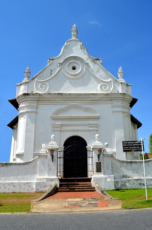 galle: Dutch architecture in Galle Sri Lanka Stock Photo