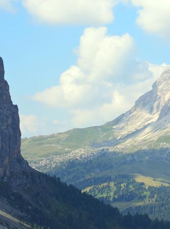 gardena: Gardena Pass Dolomites UNESCO
