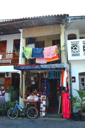 galle: souvenir shop in Galle Sri Lanka