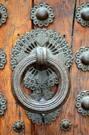 doorknocker: doorknocker in my old house in Italy