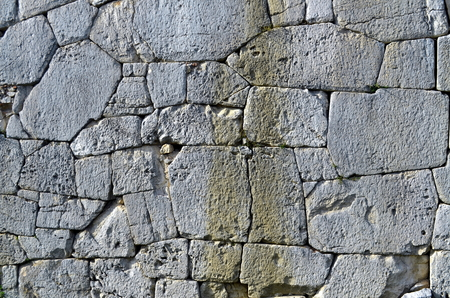 marbled effect: stone wall background Stock Photo