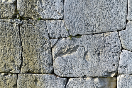 old stone wall: Old stone wall for background