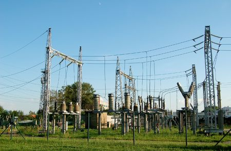 electric utility: Electric power plant