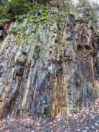 Cliff im Steinbruch bei Bromberg, Medebach, Sauerland