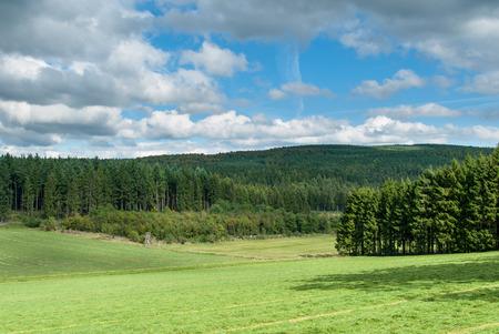 View of Paradise zwischen Bromberg und Böhlen in Medebach, Sauerland