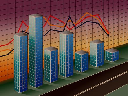 The stylised business histogram