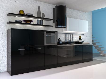 kitchen interior Stock Photo - 5873097