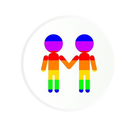 gay couple: Gay couple icon