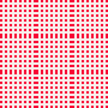 picnic blanket: Red and white gingham clothtable for a picnic or outdoor food. Checkered textile barbeque seamless empty blanket cover for table