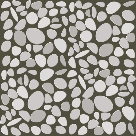 wall tile: Stone wall tile on white background