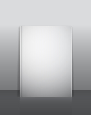 book store: Book mock-up template