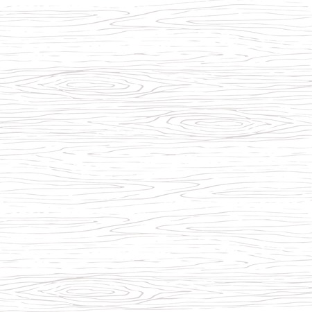 Wooden hand drawn texture background. Wood sketch surface bar, wood floor, wood grain, wooden white planks. Vettoriali