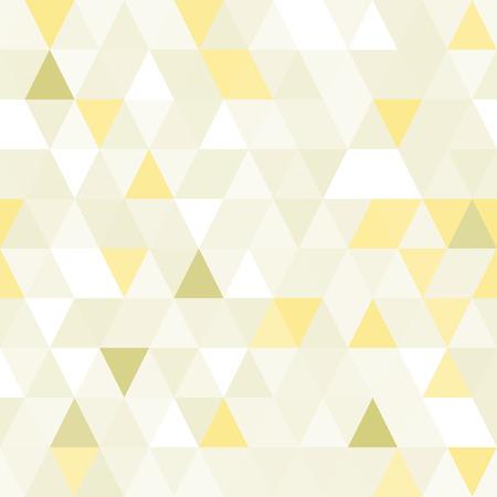 triangular shape: Triangular shape shimmering seamless pattern. Geometric shiny background. Illustration