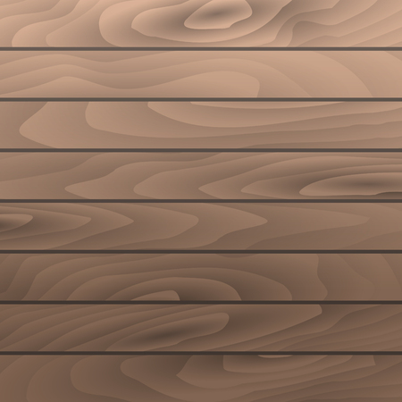 table surface: Vector hazel wood grain texture horizontal planks. Wooden table surface. Illustration
