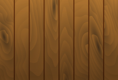 table surface: Vector wood grain texture vertical planks. Wooden cognac brown table surface. Illustration