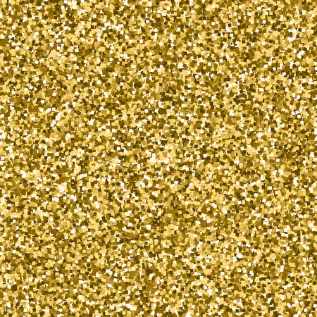 Vector Gold Glitter Seamless Pattern Shimmer Sparkle Background Magnificent Glitter Pattern