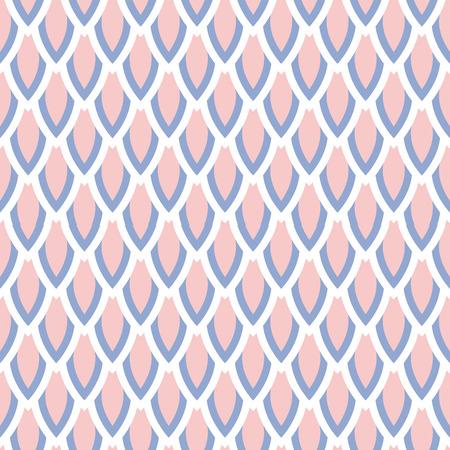 quartz: Rose quartz and serenity violet scale vector geometric seamless pattern. Classic simple style.