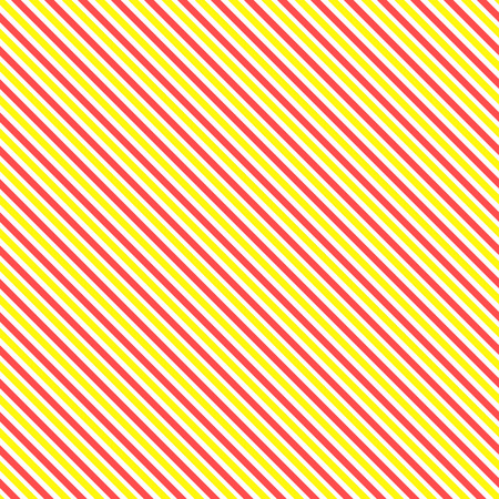 slanting: Diagonal stripe seamless pattern. Geometric classic yellow and red line background.