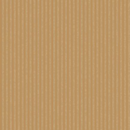 Kraft reciclado ondulado vector de la textura del papel. Arte de papel sin fisuras de los artículos de embalaje y hechos a mano.