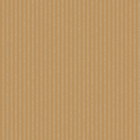 Kraft recycled corrugated paper texture vector. Seamless craft paper for packaging and handmade items.