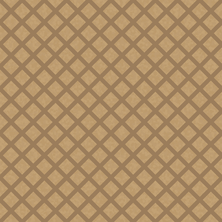 kraft: Kraft recycled paper texture vector. Seamless craftpaper with fence subtle pattern overlay. Handmade designer brown paper.