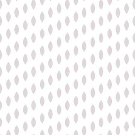 striated: Simple drop polka dot gray shape seamless pattern. Vector geometric row background. Polkadot pattern. Dotted scandinavian ornament. Illustration