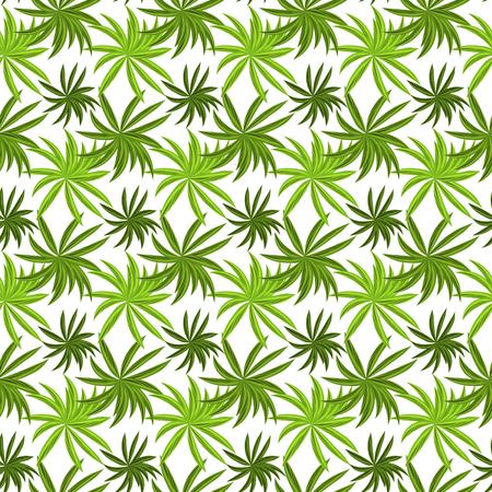 grass field: Tropical grass field seamless pattern. Fresh green summer vector pattern. Illustration