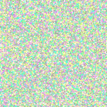Vector hologram glitter seamless pattern. Shimmer holographic sparkle rainbow background.