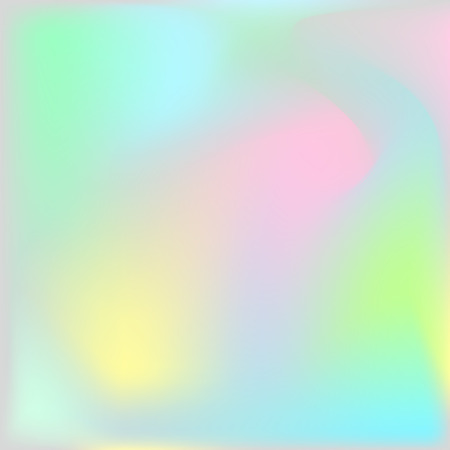 Holographic texture background. Iridescent hologram chatoyant backdrop. Nacreous pearl texture paper.  イラスト・ベクター素材